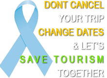 Don't Cancel, Change dates, Save tourism